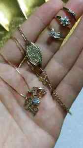 gold necklace, bracelet and 3 rings Gatineau Ottawa / Gatineau Area image 4