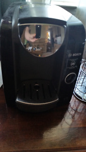 Tassimo T47 Coffee Machine with T-Disc carousel.
