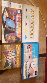 Board games 4 for £6