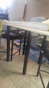 Restaurant chairs tables and mirrors and more