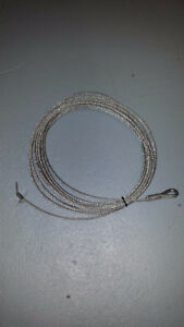 "Winch Cable 50' x 1/4""   -   NEW"