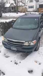 2004 Chevy venture no seats in the back