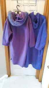 Purple Linda Lundstrom Coat Cambridge Kitchener Area image 3