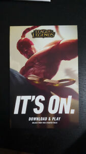 League of Legends Starter Pack Code (w/o free skin)