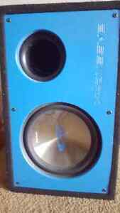 subwoofer with amp and custom casing