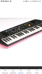 In desperate need of large pink or black music keyboard only thi