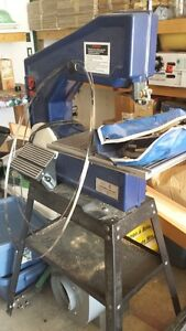 Band Saw with Disc Sander