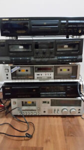 CD Players and Tape Decks