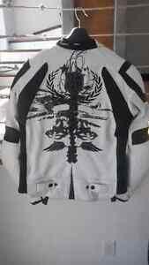 Manteau de cuir pour moto Scorpion