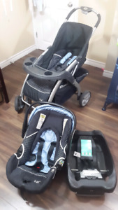 Stroller, Car seat and Base, LUX brand