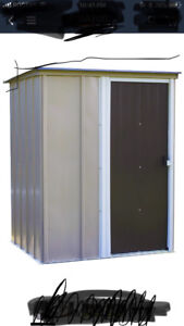 Brand new in The Box 5x4 Steel Shed