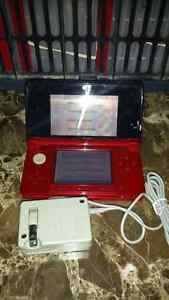 Red 3ds and games