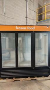 Refurbished Coolers & Freezers GDM 72 & 72F Three Doors Glass