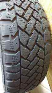 Snowtrakker winter tires with rims Cambridge Kitchener Area image 1