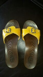 Dr. Scholl`s Sandles, Yellow, Size 10