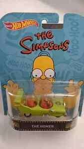 HOT WHEELS THE SIMPSONS THE HOMER