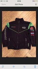 Kawasaki racing team fleece