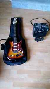 Guitar and Amp and accessories