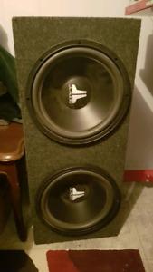 JL Audio 12in subwoofers
