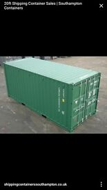 CONTAINERS AND UNITS (£65 PER WEEK) TO RENT IN SWAN EDDISON RD WASHINGTON NE38 8JH 20FT BY 8FT