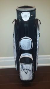 New ladies Black and White Callaway  Golf Bag. Lightweight