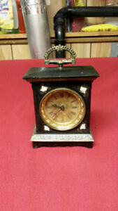 EARLY ALARM CLOCK - ALL MECHANICAL - NO BATTERIES - CIRCA 1930