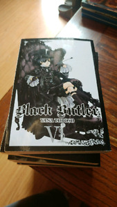 I have 6 of the black butler manga collection I am selling