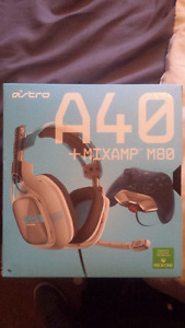 ASTRO A40 with M80 MixAmp