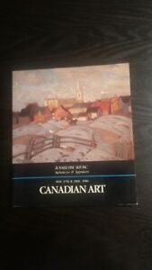 Canadian Art May 27th & 28th, 1986