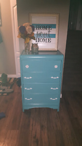 Refinished mini dresser