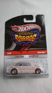 HOT WHEELS WAYNE'S GARAGE SHOE BOX RR REDLINE DIECAST MINT