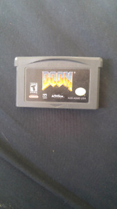 Doom and LotR: Return of the King for Gameboy Advance