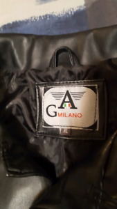 GA milano men's leather coat