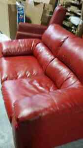 SOFA CHAIRS RECLINERS AND TABLES FOR SALE