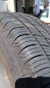 Selling 4 Michelin Defender Tires on Alloy Rims Kitchener / Waterloo Kitchener Area image 4