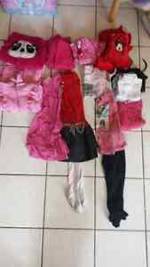 Lots de vêtements fille 5-6 ans