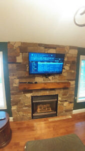 STONE MASON Specialist Available For Fireplace Installs