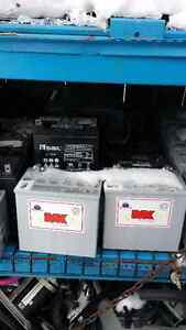 BATTERIES, 12 volt, Deep Cycle, Gel, Solar, Scooters, Etc $40.00 London Ontario image 2