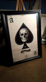 Very Large 'Ace of Spades' picture.