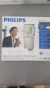 BNIB Philips Digital Voice Dictation Recorder LFH9600 Series