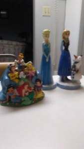 Disney Princess Figurines Ft Frozen and other princess