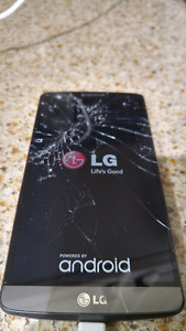 LG G3 with Broken Screen Locked to Virgin Mobile