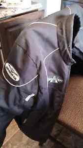 Black motorcycle jacket size medium $40
