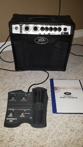 Peavey VYPYR VIP-1 with Sanpera Expression Pedal