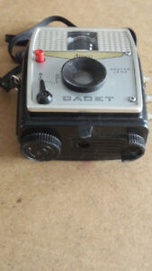 Vintage 1960 Ansco Cadet camera with case