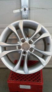 "5 star 17"" set rims only"