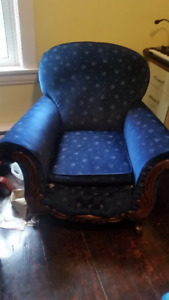 Free vintage armchair pickup only