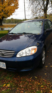 2003 Toyota Corolla: safety done and ready to go