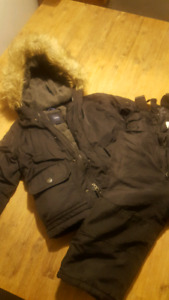 Size 2 Toddler Boys Winter Coat and Snow Pants