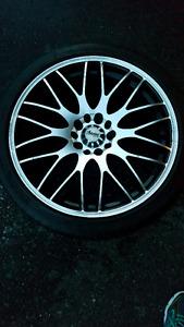 "18"" Advanti Racing Rims + Michelin Sport Tires"